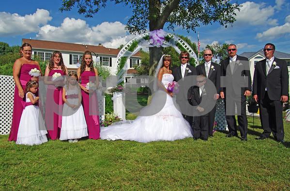 Kerrie and John's Wedding 8/9/2008