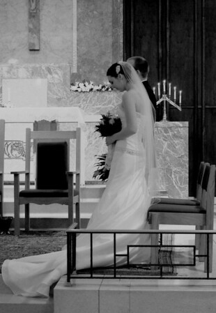 Kevin & Kim's Wedding - Black & White