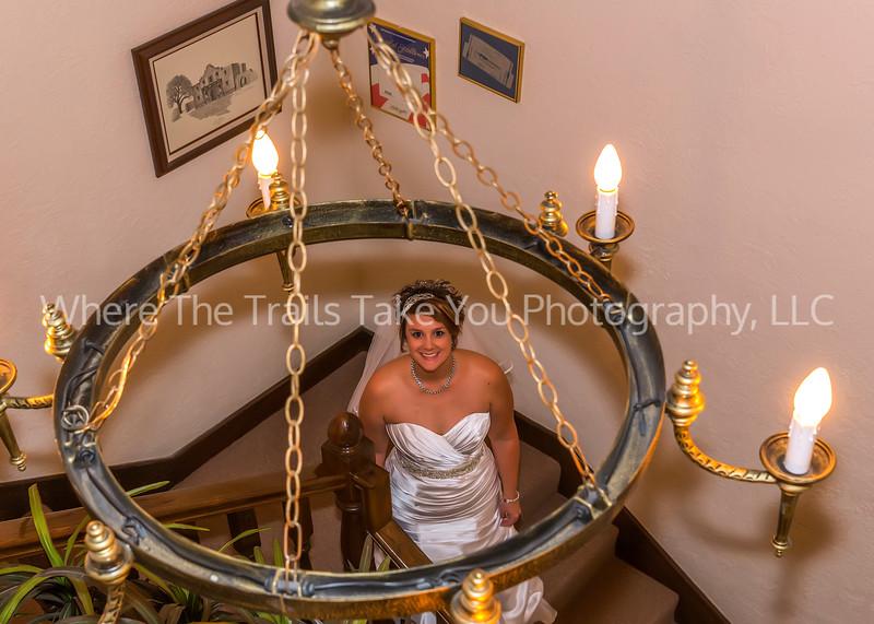 Bride Under The Chandelier