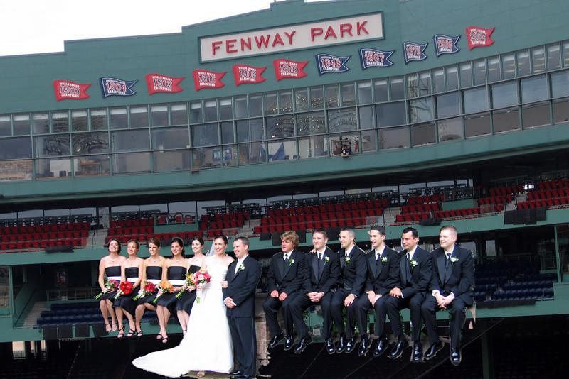Bride and Fenway 2