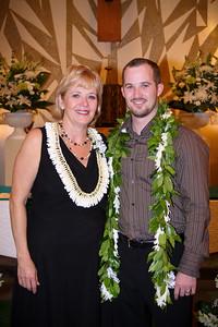 Kim and Billy Honolulu Hawaii Wedding Formals
