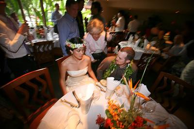 Kim and Billy Honolulu Hawaii Wedding Reception