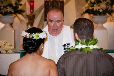 Kim and Billy Honolulu Hawaii Wedding Ceremony