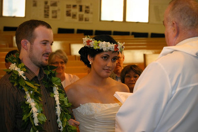 Kim and Billy Honolulu Hawaii Wedding Ceremony