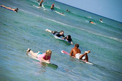 Kim Billy Honolulu Wedding Surfing Couple Shoot