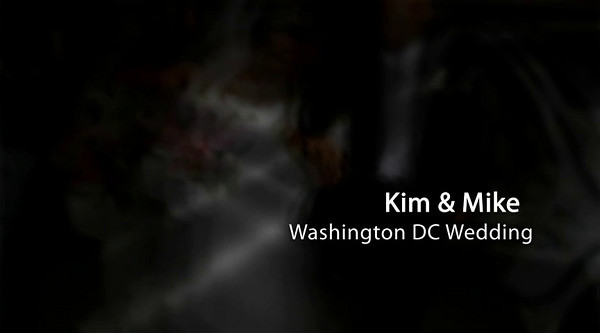 Kim & Mike Washington DC Wedding Show for HER !!!!!  Click Arrow to Play Show