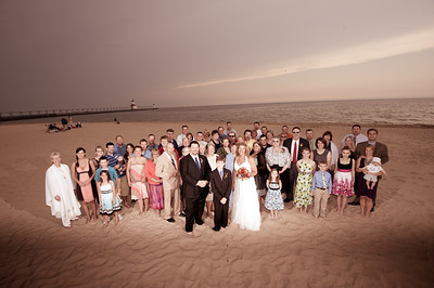 Judy & Greg's St. Joseph Beach Wedding