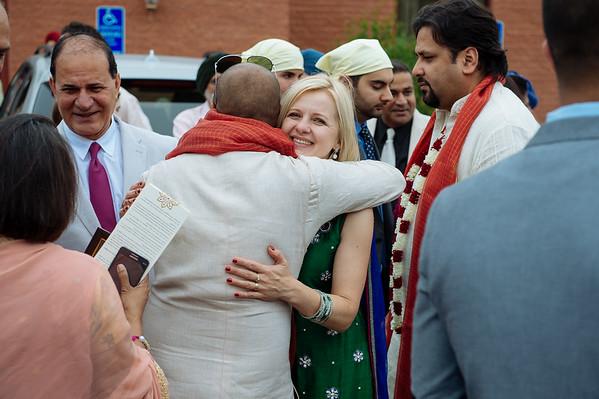 Kiran and Rohan - Post Anand Karaj