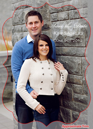 Kirk and Ashley Save the Dates