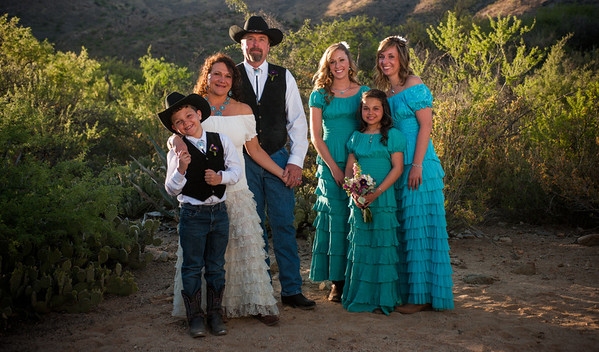 Korena and Arnie Get Married at Elkhorn Ranch, AZ