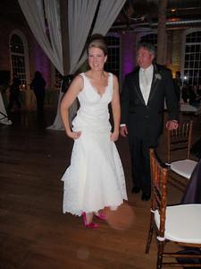 Kris' hot pink shoes!