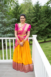 Indian engagement ceremony