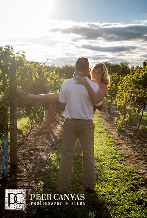 Krista + Michael | DC Estate Winery Engagement