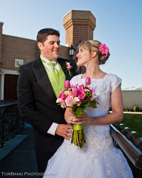 Krysta and Dallas Married 5/5/2012 - Castle Park  Lindon, UT - © @2012 Torsten Bangerter