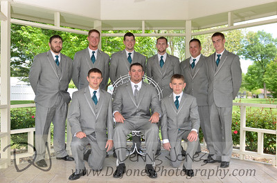Glenn and 8 groomsmen