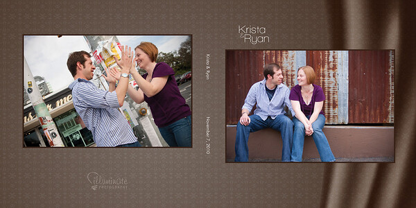 Krista & Ryan - Engagement Book