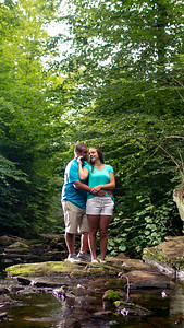 Kristen Conrath and Jacob Hand at Ricketts Glen