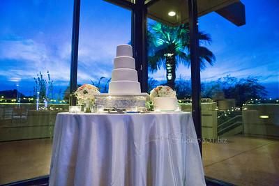 Kristin & Brandon's cake 2061 Cf priC