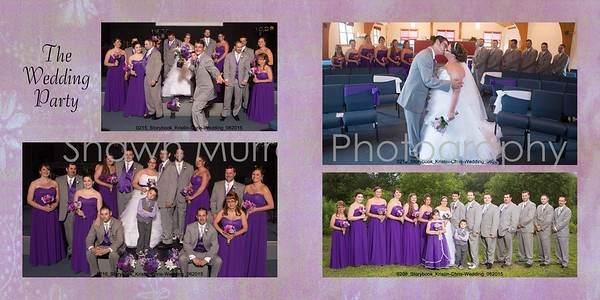 Christopher and Kristin wedding album 012 (Sides 21-22)