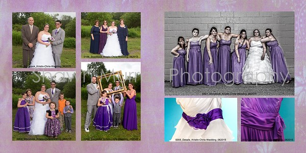 Christopher and Kristin wedding album 014 (Sides 25-26)