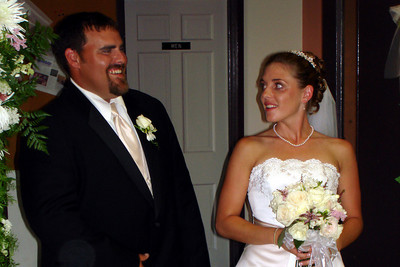 Kristin and Mike - Quakertown, PA ... August 4, 2007 ... Photo by Rob Page III