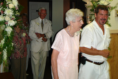 Entering the reception - Quakertown, PA ... August 4, 2007 ... Photo by Rob Page III