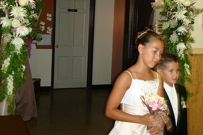 The flower girl - Quakertown, PA ... August 4, 2007 ... Photo by Rob Page III