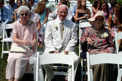 Grandma and Grandpa at Kristin's wedding  - Perkasie, PA  ... August 4, 2007 ... Photo by Rob Page III