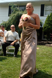 One of the bridesmaids - Perkasie, PA  ... August 4, 2007 ... Photo by Rob Page III