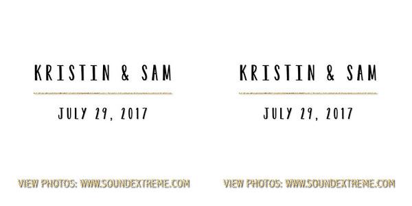 Kristin & Sam 7-29-17
