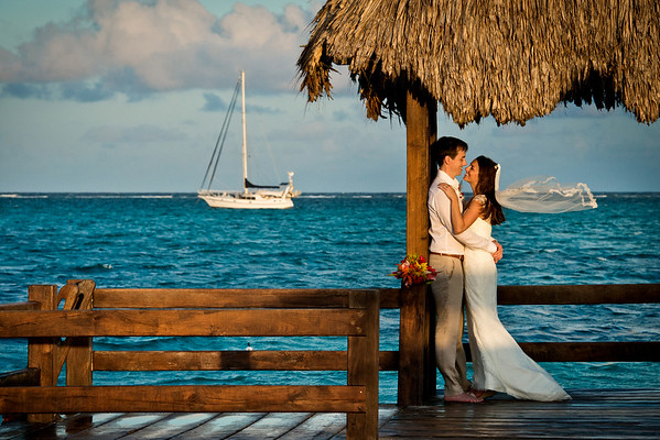 Kristin & Ted - Wedding - Belize - 29th of May 2016