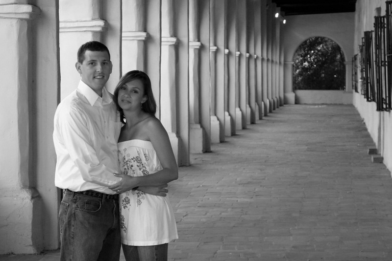 Engagement - 035 B&W