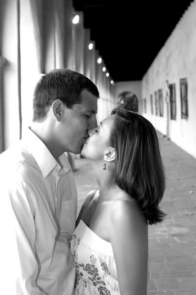 Engagement - 017 B&W