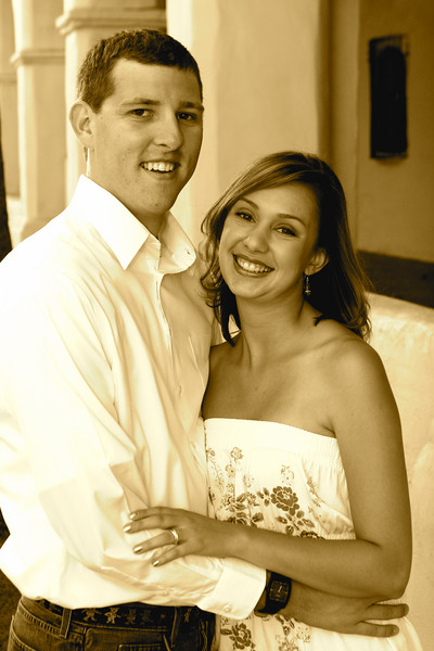 Engagement - 002 sepia