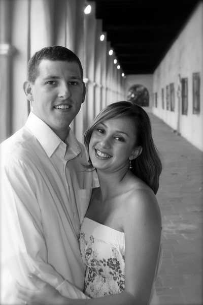 Engagement - 013 B&W