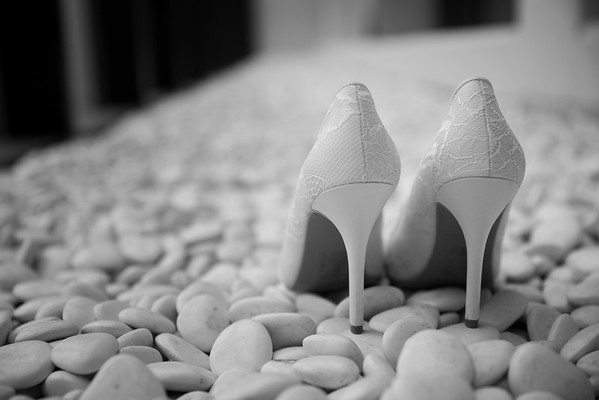 Bride Prep BW