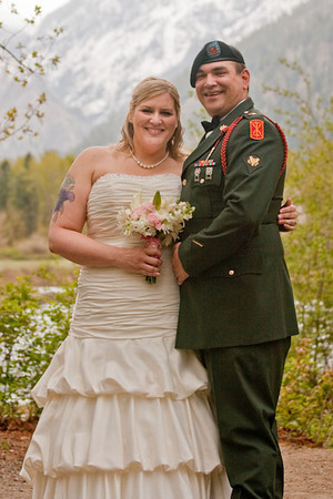 Kristy and Josh at Waterfront Park Leavenworth 5-7-11