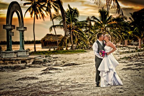Kristyn & Justin - Wedding - Belize - 12th of September 2016