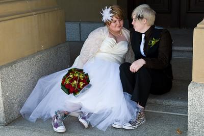 Krystal & Amy's Wedding Sept 26, 09
