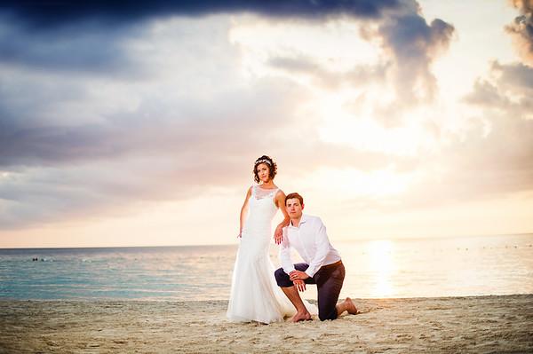 Kyle & Amy Jamaica Wedding