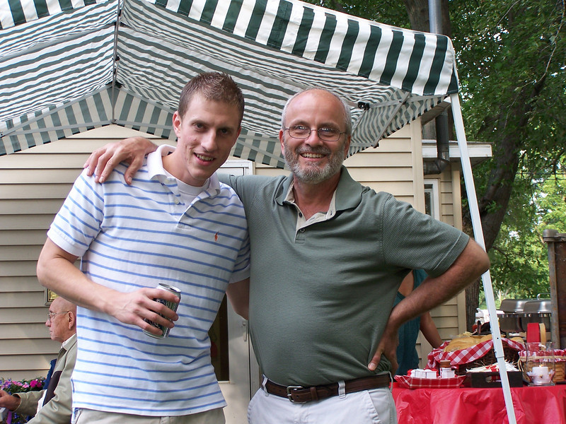 Kyle with his Dad, Danny Giombi