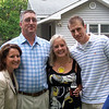 Mona & Steve Craig with Holly & Kyle. Taken at the rehearsal cookout at the Craig's cottage.