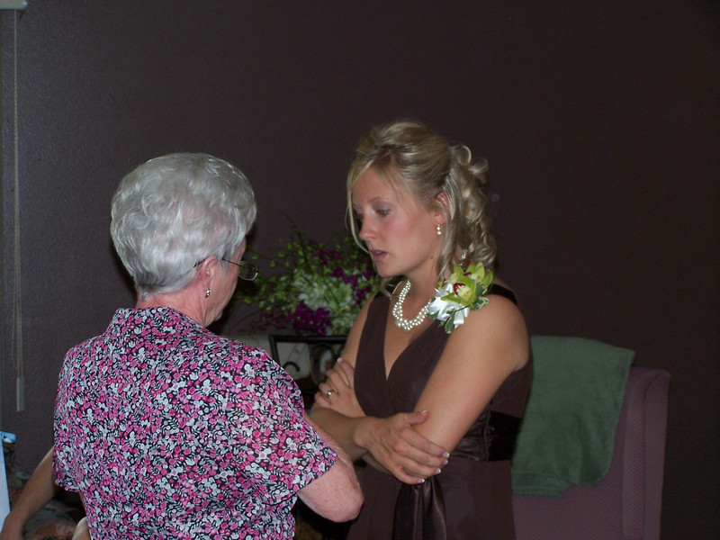 Holly with her Grandma Judy