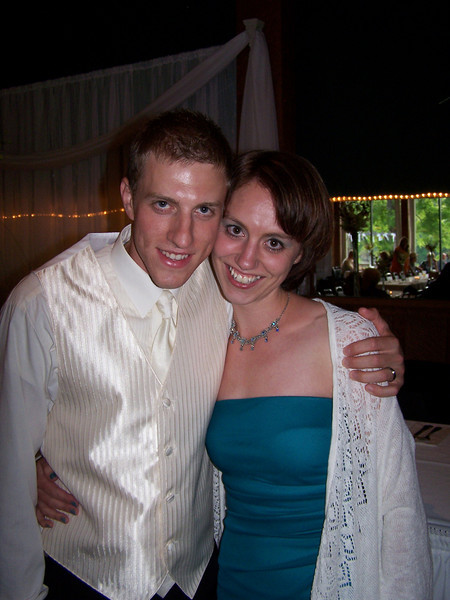 Kyle with his cousin Tiffany Alexander