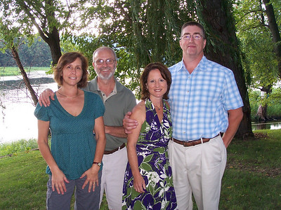 Parents of the groom and bride- Laurie & Danny Giombi and Mona & Steve Craig