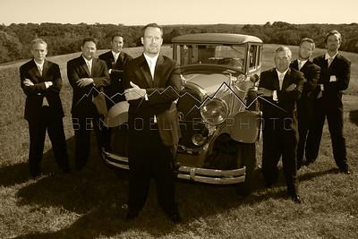 Golos wedding groomsmen
