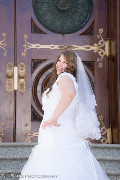 Kyrie and Daniel Married Aug 2, 2013 Salt Lake Temple Photos by TorBang Photography