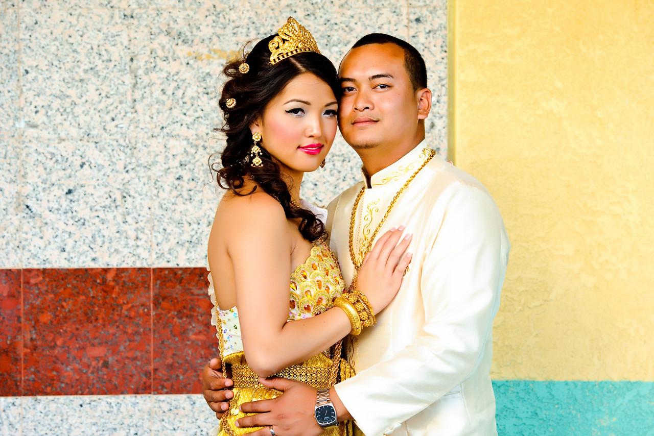 Long beach Cambodian wedding