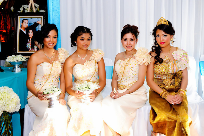 Cambodian wedding dresses