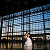 Lambeau Field Wedding Kiss